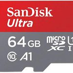 SanDisk 64GB memory card Class 10