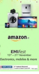 Amazon EMI Fest on HDFC bank Cards