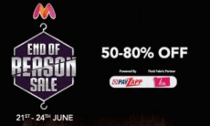 Myntra : End of Reason Sale started with instant discount.