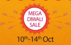 Snapdeal mega Diwali Sale started from 10th to 14th October 2018