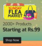 Sunday Flea Market at Shopclues on 23rd September 2018