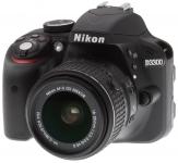 Nikon D3300 DSLR Camera Body with Lens