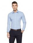Amazon Brand- Symbol Men's Formal Fil a Fil Slim Fit Shirt