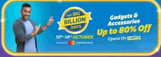 Data Storages : Filpkart big Billion days 2018