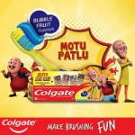 Freebie : Colgate – Anticavity Toothpaste for Kids
