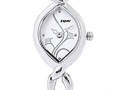 Espoir Floral Analog White Dial Women's Watch