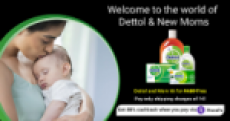 Freebies : Rs.11 for Dettol and mom kit at lowest price