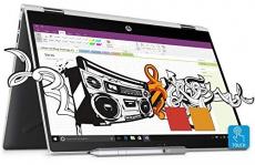 HP Pavilion x360 14-cd0077TU Laptop(8th Gen i3-8130U/4GB DDR4/1TB+8GB SSHD/Intel UHD Graphics/Win 10/HP Pen/MS Office H&S 2016)