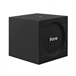 iHome Bluetooth Rechargeable Mini Speaker Cube – Black (1st Version) iBT16GC