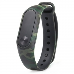 MStick Camouflage Replacement Green Band Strap for Xiaomi Mi Band Version