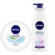 Nivea White and Soft Combo